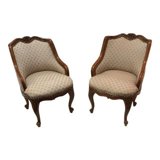 Antique French Side Chairs - A Pair
