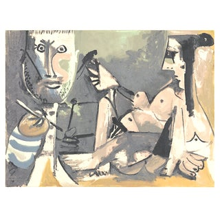 "1991 Picasso ""The Artist and His Model"" Serigraph"
