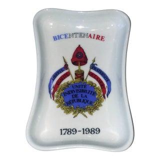 French Revolution Bicentennial Small Dish