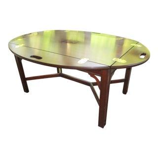 Henkel Harris Mahogany Tray Table