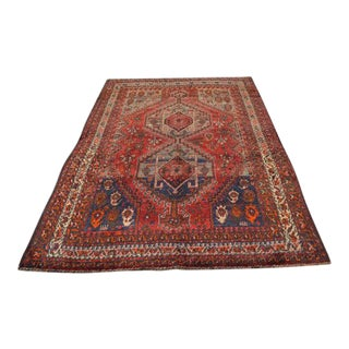 Antique Turkish Hand Woven Carpet - 5' x 7'