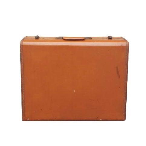 Vintage Samsonite Leather Suitcase - Image 1 of 5