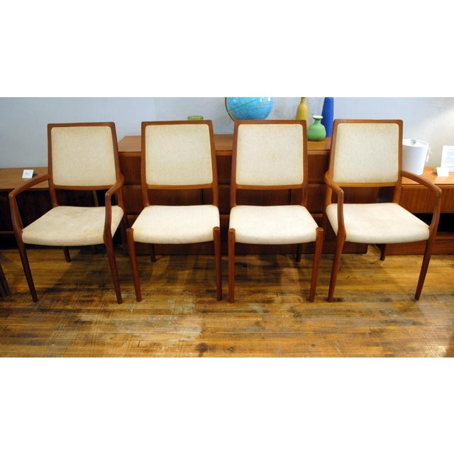JL Moller Vintage Teak Dining Chairs - Set of 4 - Image 3 of 11