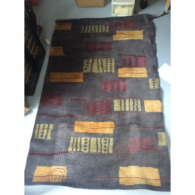 Contemporary Wool Rug - 5' x 8' - Image 2 of 7