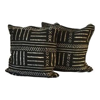 Handmade Mudcloth Pillows- A Pair