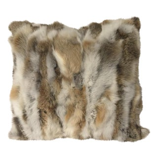 Mosaic Fur Pillow