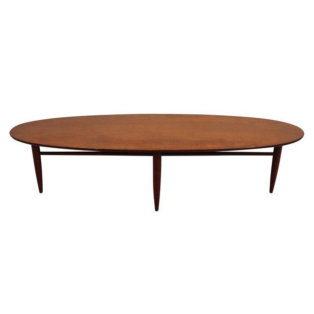 Midcentury Modern Surfboard Coffee Table - Image 2 of 7