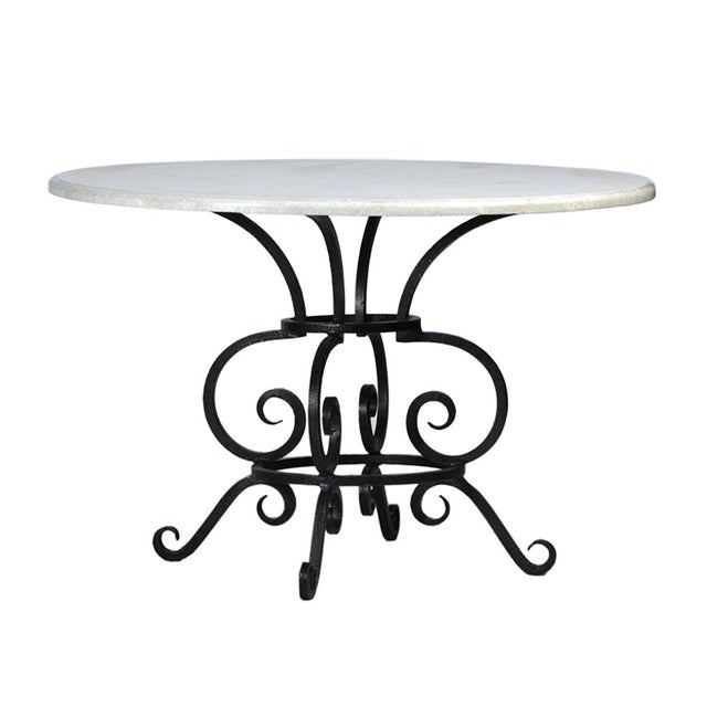 White Marble Dining Table Chairish