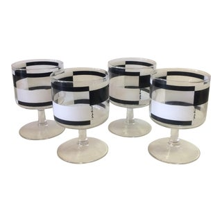 Georges Briard Mid-Century Modern Glasses- Set of 4
