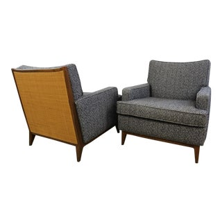 Mid-Century Modern Paul McCobb Club Chairs - Pair