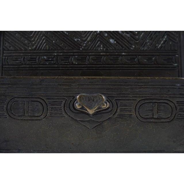 Tiffany Studio New York- Bronze Desk Letter Holder - Image 3 of 9