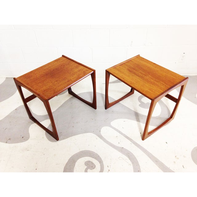 Image of Mid-Century Teak End Tables