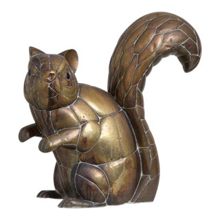 A Copper and Brass Squirrel by Sergio Bustamante 11/100