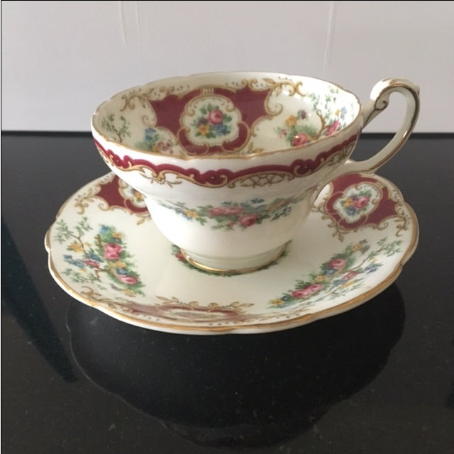 Image of Foley China Tea Cup and Saucer