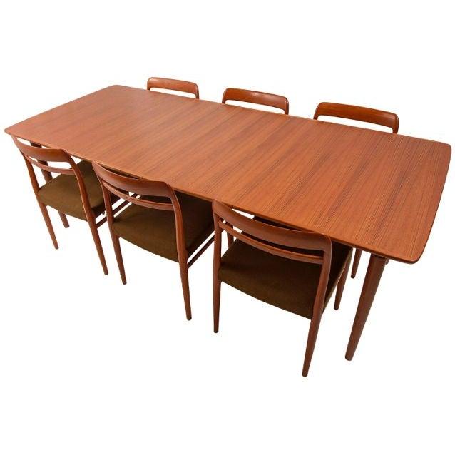 Image of Norwegian Expanding Teak Dining Set