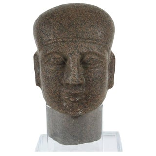 Late Period, Egyptian Granite Bust