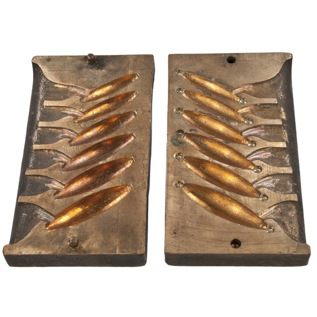 Solid Brass Lead Sinker Mold - Image 1 of 3
