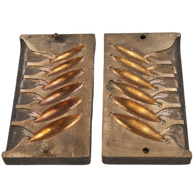 Image of Solid Brass Lead Sinker Mold