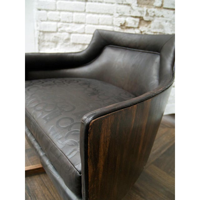 Gucci-Style Swivel Chair - Image 6 of 9