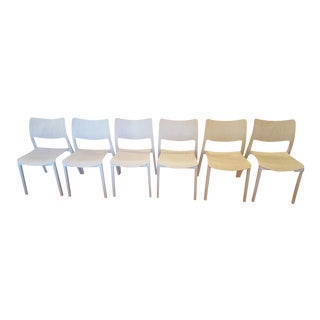 Design Within Reach Laclasica Chairs in Ash - Set of 6