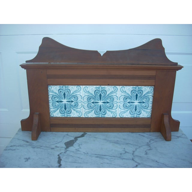 Image of Marble Top Wash Stand