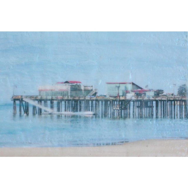 Capitola Morning - Photo Encaustic Painting - Image 3 of 4