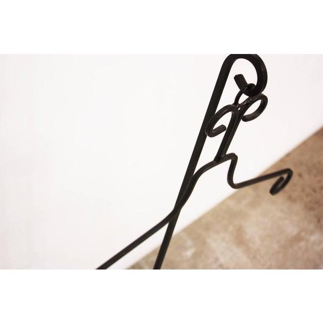 Image of Frederick Weinberg Style Iron Tripod Valet
