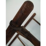 Image of Antique Colonial Oak Drying Rack