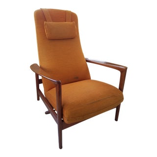 Folke Ohlsson Dux High Back Reclining Lounge Chair