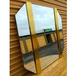 Image of Retro Octagon Beveled Glass Mirror