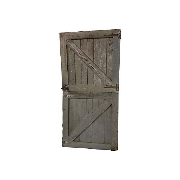 Horse Stall Dutch Doors- A Pair - Image 1 of 6