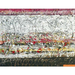 Original Abstract Painting by Tancredi