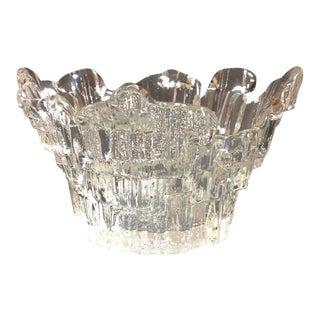 Tauno Wirkalla Northern Lights Ice Glass Bud Vase