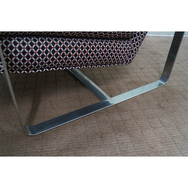 Bernhardt Flair Lounge Chair Milo Baughman Era - Image 7 of 10