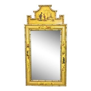 1960s Italian Chinoiserie Mirror