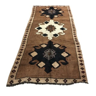 Turkish Oushak Rug - 5′4″ × 12′6″