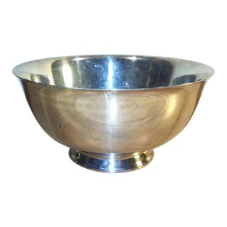 Paul Revere Silver Plate Footed Bowl