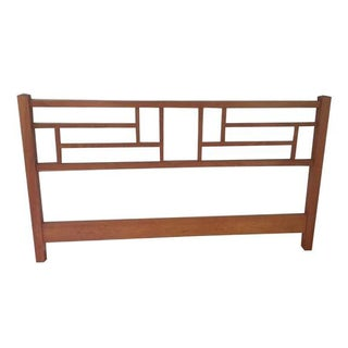 Thos Moser Natural Cherry Headboard