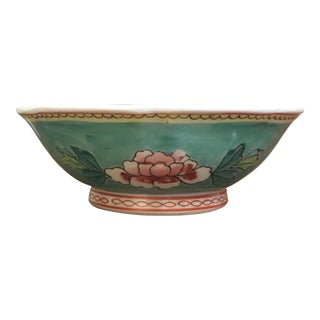 Floral Asian Bowl