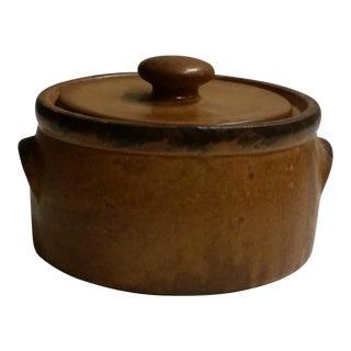 Vintage McCoy Pottery Canyon Mesa Bean Pot/Casserole Dish