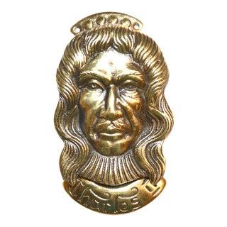 Vintage King Charles II Door Knocker