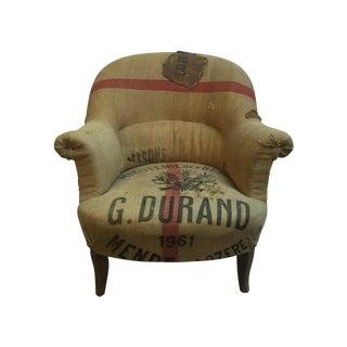 Overstuffed Slipper Chair