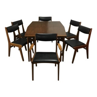 Mint Stanley Mid Century Dining Set - Set of 7