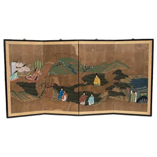 Japanese Byobu Screen, 1940s