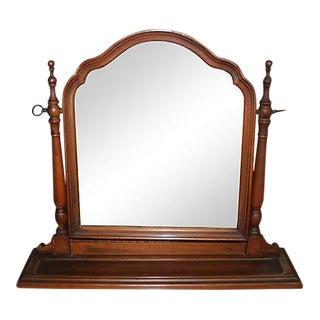 Vintage Table Top Tilt Mirror