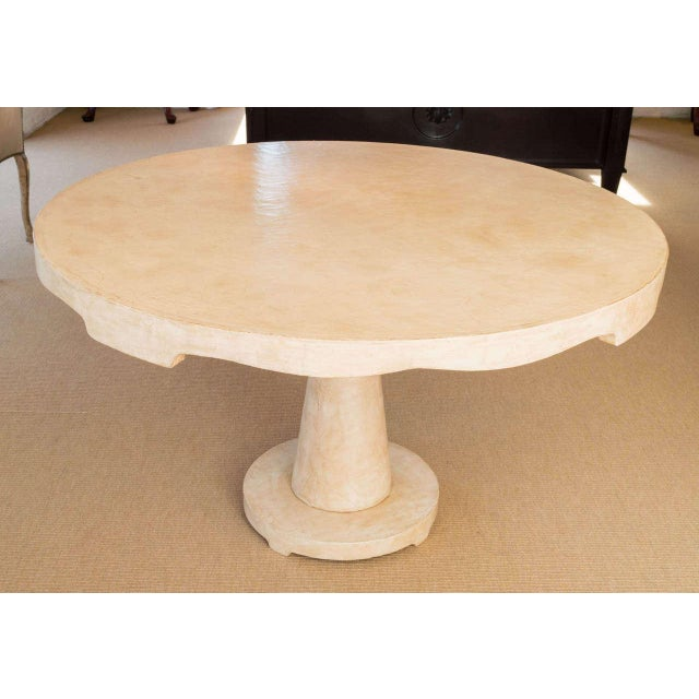 Moroccan Inspired Round Center Table - Image 4 of 8