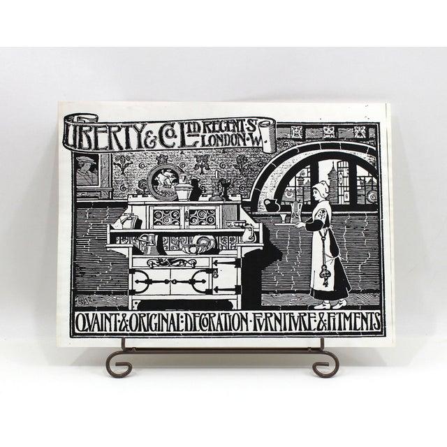 1910s Kitchen Advertisement Wood Block Print - Image 2 of 5