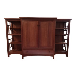 Custom Thomas Moser Hutch