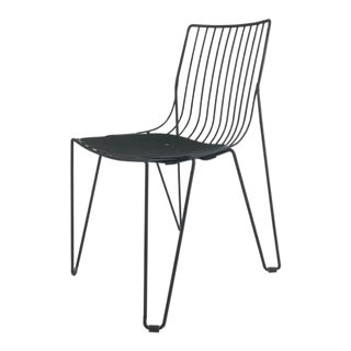 Black Powder Coated Outdoor Chair