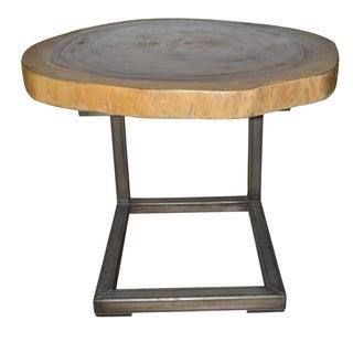 Round Stump Table